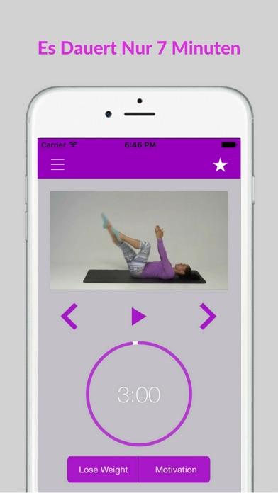 Pilates Einsteiger Übungen Training AusbildungScreenshot von 3