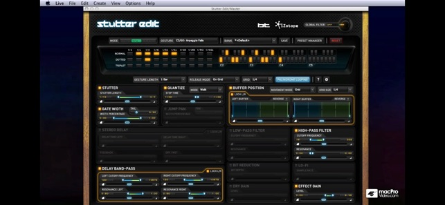 Stutter Edit for iZotope Audio