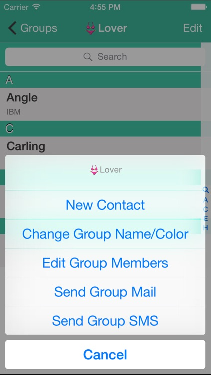 Contacts Grouping screenshot-1