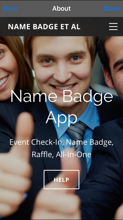 Name Badge Event Management screenshot-4