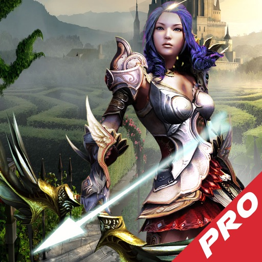 Archer Girl The Shadow Pro - Best Archery Tournament Game icon