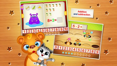 123 Kids Fun NUMBERS - Top Fun Math Games for Kids Screenshot on iOS