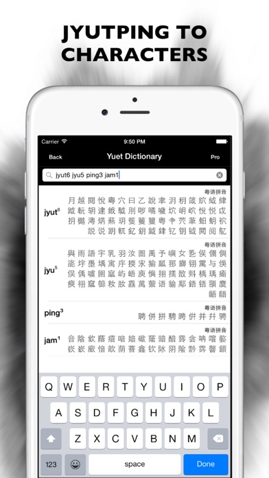 Cantonese Dictionary screenshot two