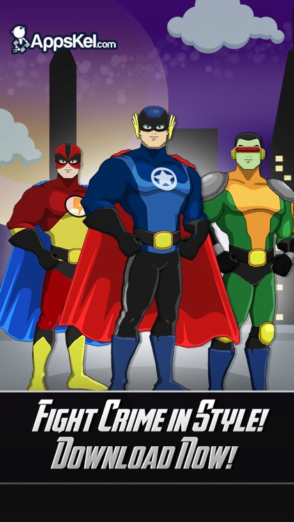 Superhero Captain Assemble– Dress Up Game for Free screenshot-3