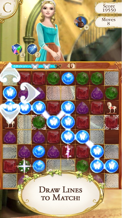 Cinderella Free Fall screenshot-0