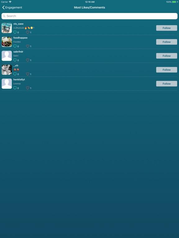 Followers Pro + for Instagram-ipad-2