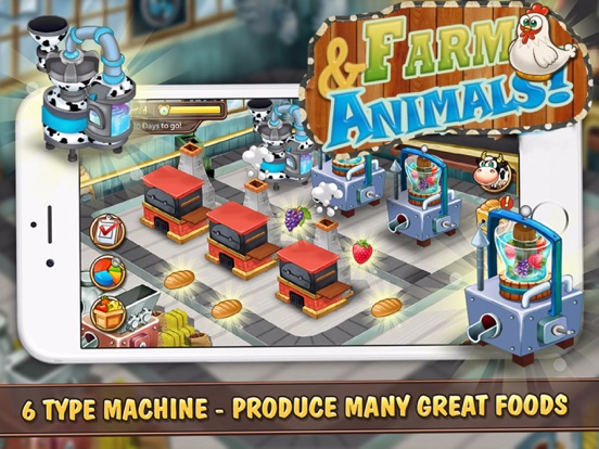 Screenshot #1 for Farm and Animals : Harvesting under the blue moon