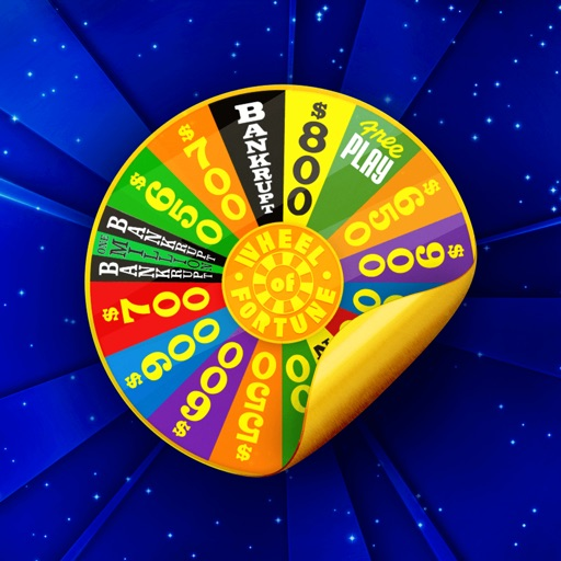 Wheel of Fortune Stickers Pack