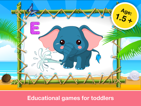 Alphabet Aquarium School Adventure Vol 1: Teachme Letters - Animated Puzzle Games for Preschool and Kindergarten Explorers by 22learn screenshot