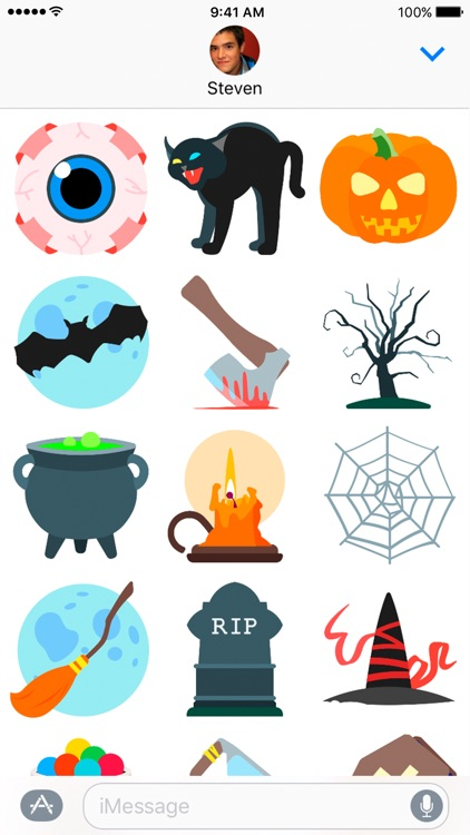 Halloween Kit Stickers