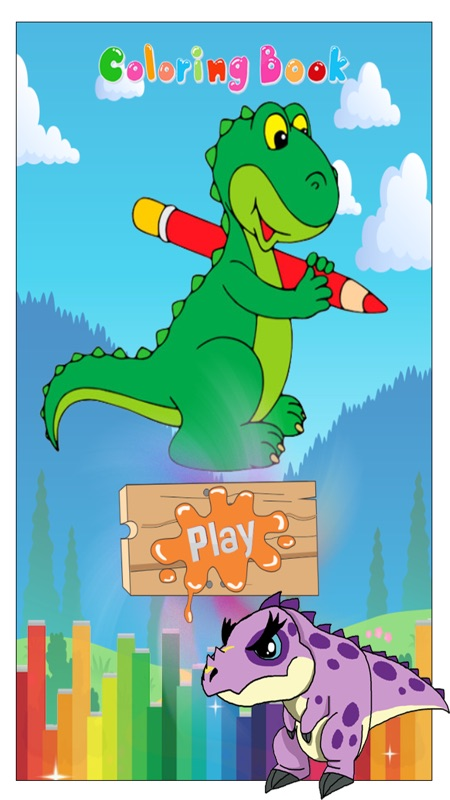 Dino Coloring Page Stunning Free Forrs Picture Ideas Online Games ... | 800x450