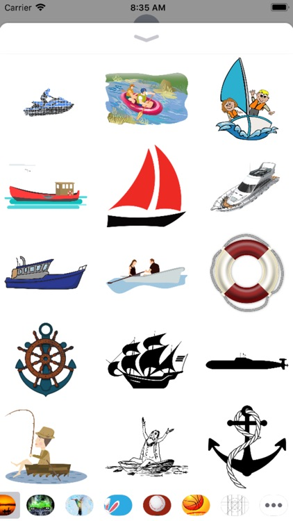 Boat Stickers - Sid Y