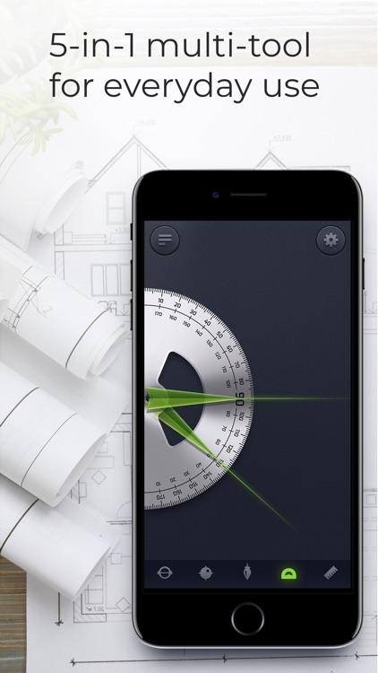 Tool Box: goniometer & ruler screenshot-3