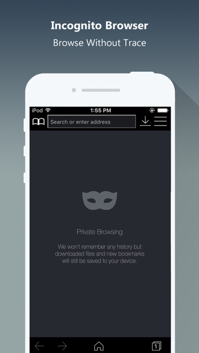 Screenshot #8 for Private Browser PRO - Safe Browsing & File Manager