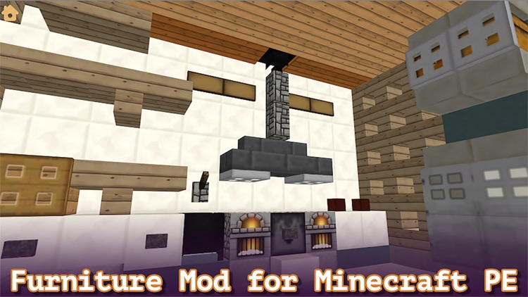 . Furniture Mod for Minecraft PE   Pocket Edition   by Nile Saare