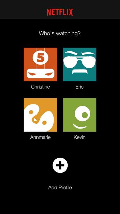 Screenshot 3 for Netflix's iPhone app'