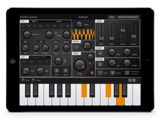 Music Synthesizer Piano: Full-Features Midi Melody keyboard Screenshots