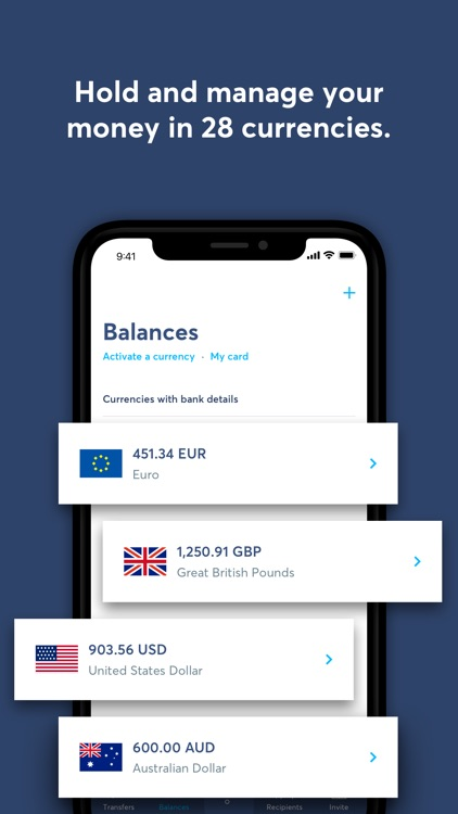 TransferWise Money Transfer screenshot-3