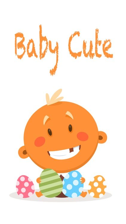 Baby Cute Sticker - Emoji