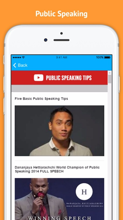 Public Speaking Tips - Overcome Your Fear screenshot-3