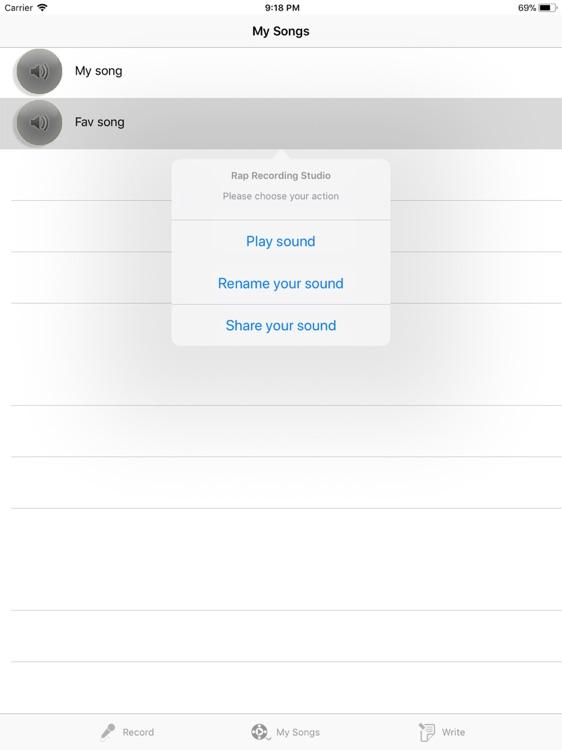 Rap Recording Studio Pro screenshot-4