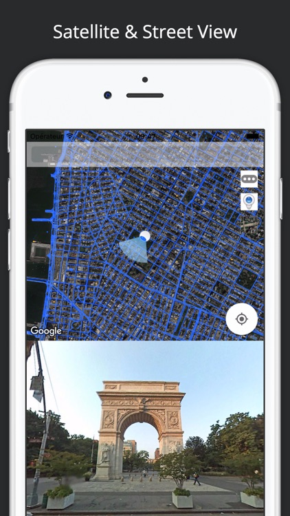 StreetViewMap for Google  Street View™ and Maps™ screenshot-4