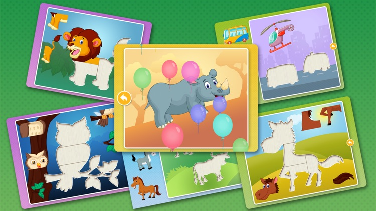Animal Puzzle Games: Kids & Toddlers Learning Free screenshot-4