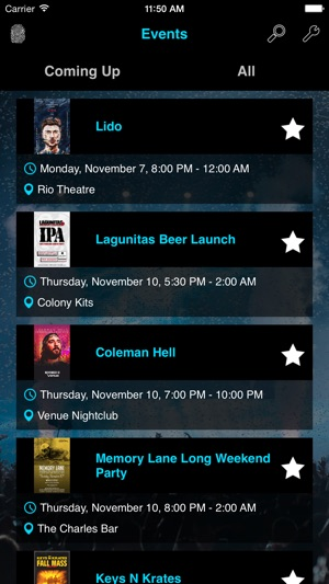 Blueprint events on the app store malvernweather Gallery