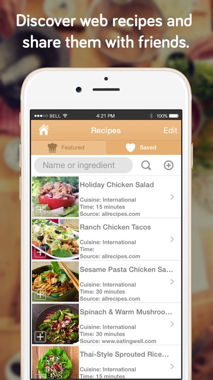 Shopper - Grocery List, Shopping List and Recipes screenshot-3