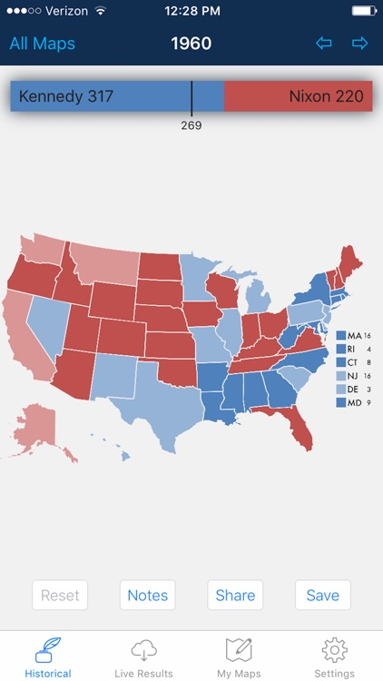 Presidential Election & Electoral College Maps