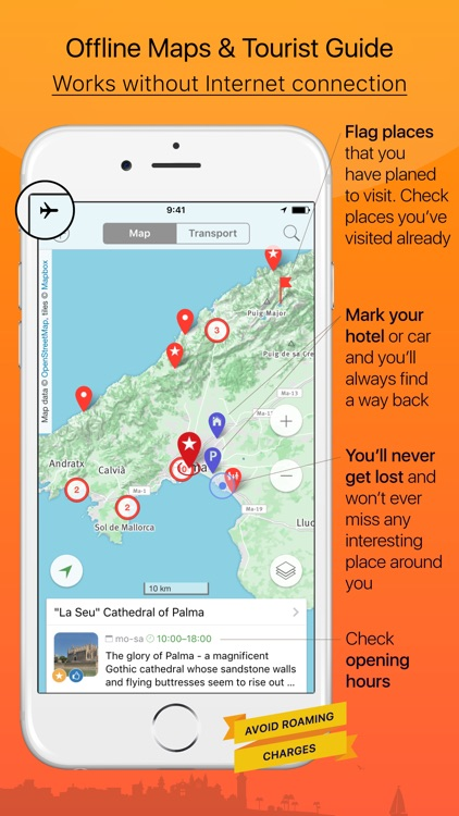 Mallorca – advanced tourist guide & offline map
