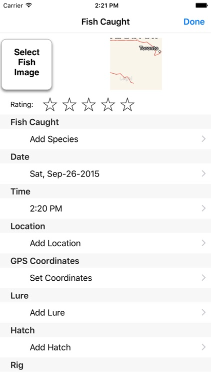 FishTales - A Fishing Log Book and Journal screenshot-3