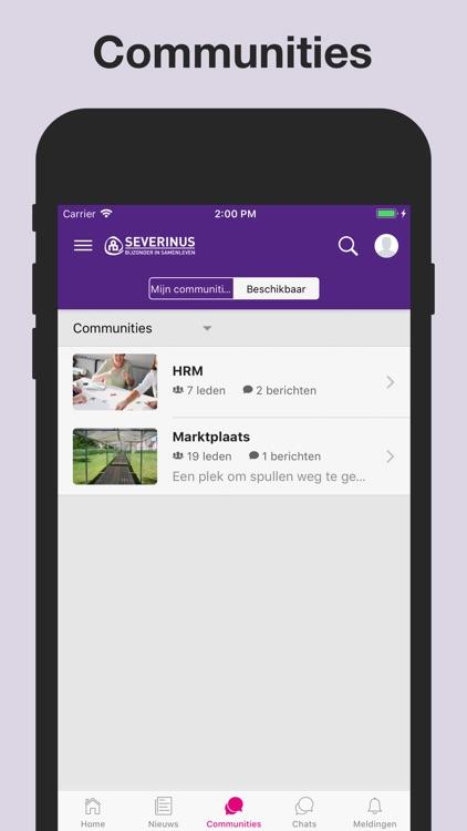 Intranet Severinus by a&m impact internetdiensten b.v.