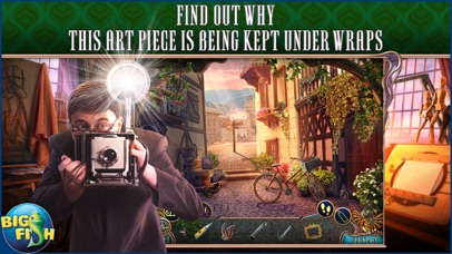 Off The Record: The Art of Deception - A Hidden Object Mystery (Full) screenshot one