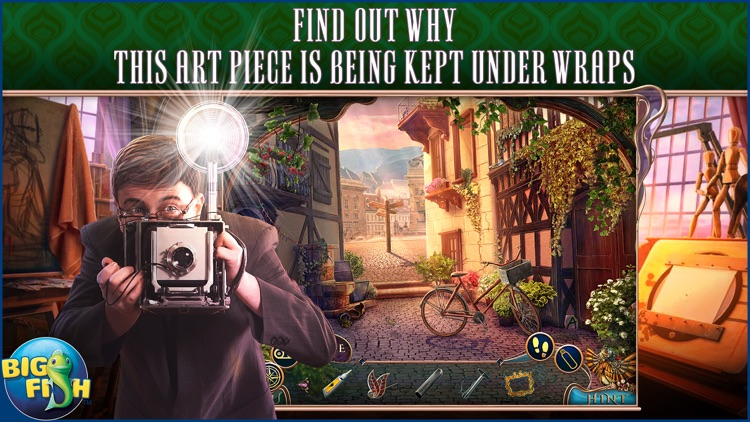 Off The Record: The Art of Deception - A Hidden Object Mystery (Full) screenshot-0