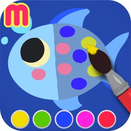 My First Coloring Book - painting app for toddler and  kids