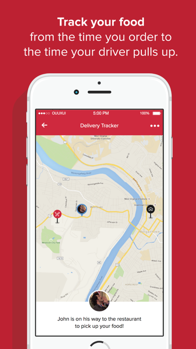 OrderUp - Food Delivery Screenshot