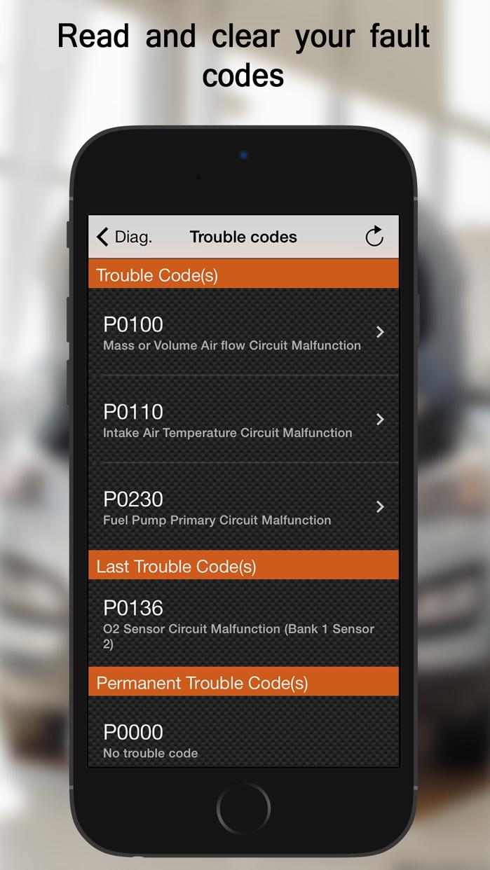 EOBD Facile - Car Diagnostic Screenshot