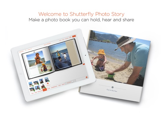 Shutterfly Photo Story Screenshot