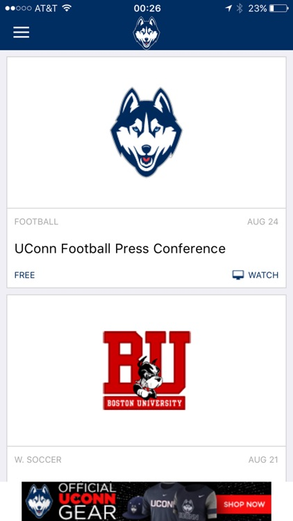 UConn Huskies Gameday LIVE screenshot-4
