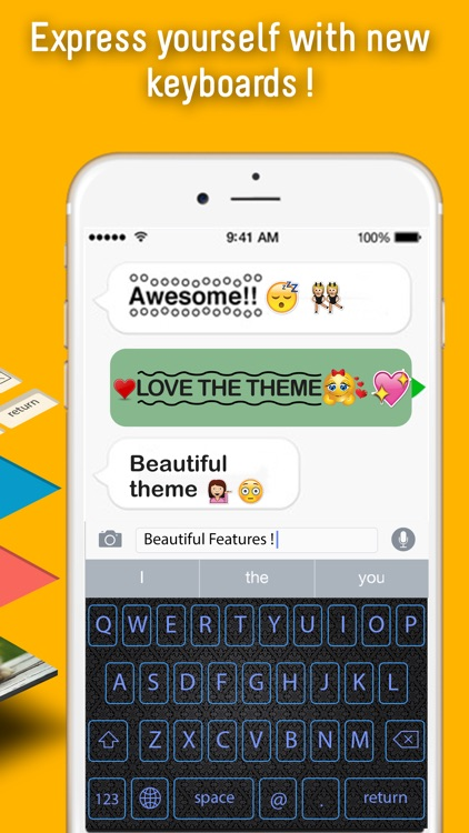 InstaMoji Keyboard Creator - Custom Keyboard Maker screenshot-3