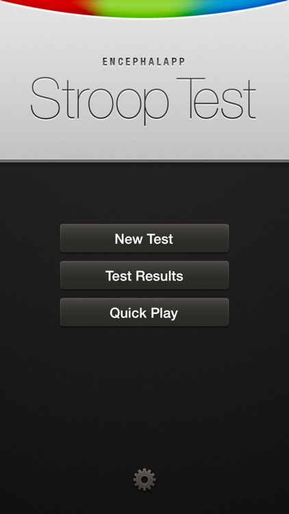 EncephalApp - Stroop Test screenshot-0
