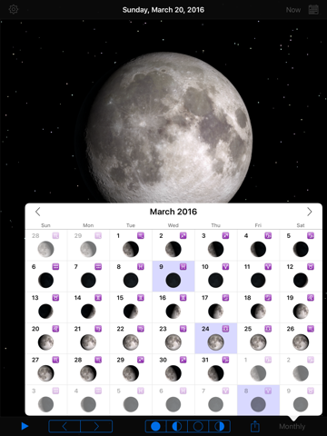 Phases of the Moon-ipad-3