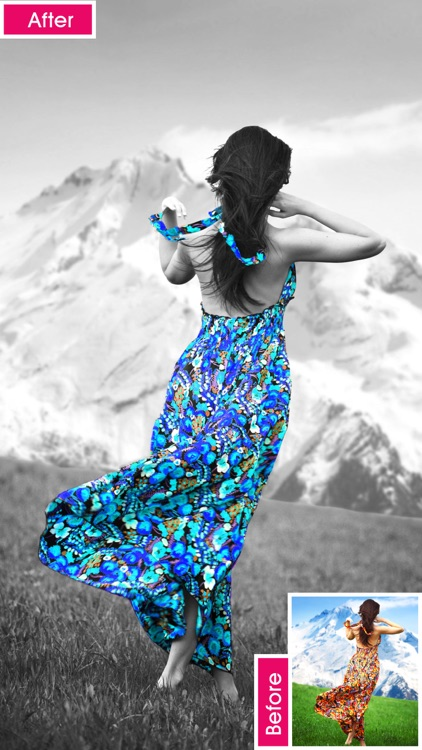 KingSplash - Photo color and recolor splash effect