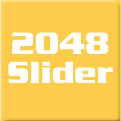 2048 Slider - The 2048 Number Puzzle Game icon