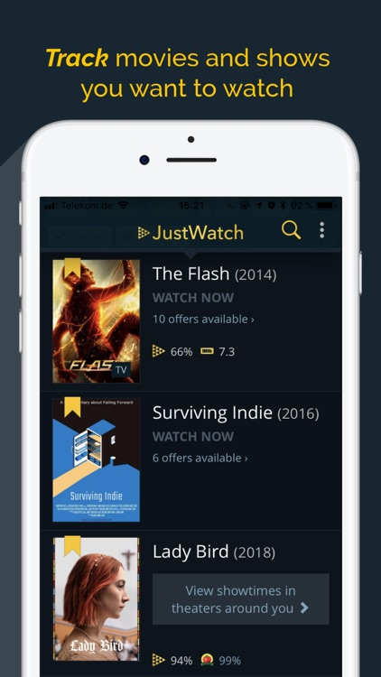 JustWatch - Movies & TV Shows screenshot-3