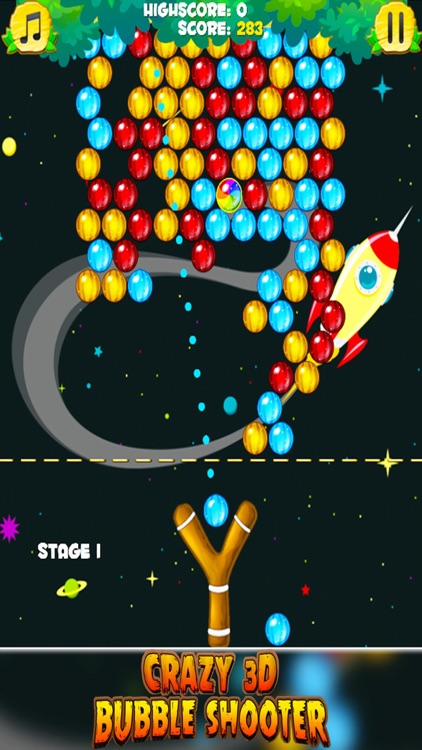 Crazy 3D Bubble Shooter screenshot-3