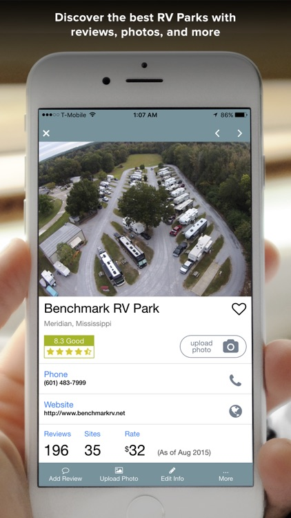 RV Park and Campground Reviews