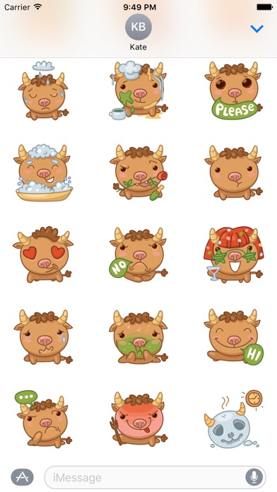 download Bully Bull Stickers apps 0
