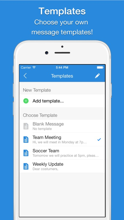 Mail 2 Group - Quickly Email Your Contacts screenshot-3